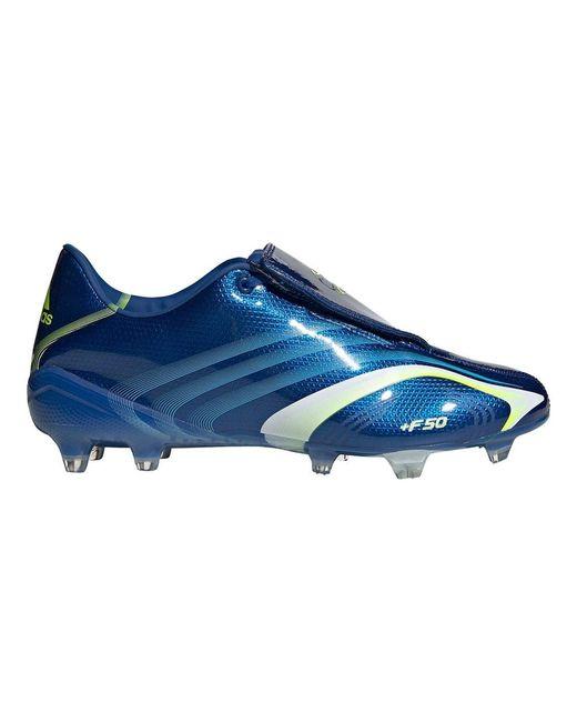 F50 FG Chaussures de Football Bleu Adidas pour homme en coloris Blue