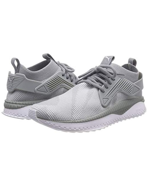 01eced68954f ... PUMA - Gray Unisex Adults  Tsugi Cage Dazzle Low-top Sneakers for Men  ...