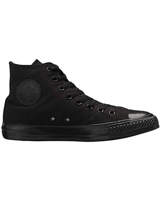 901d5b6d443e ... Converse - Black S Chuck Taylor All Star Fabric Hight Top Lace Up  Fashion Sneakers for ...