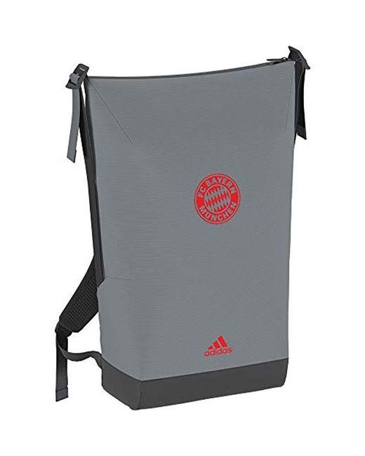9c33aa3aea919 Men's Gray 2018-2019 Bayern Munich Id Backpack (solid Grey)