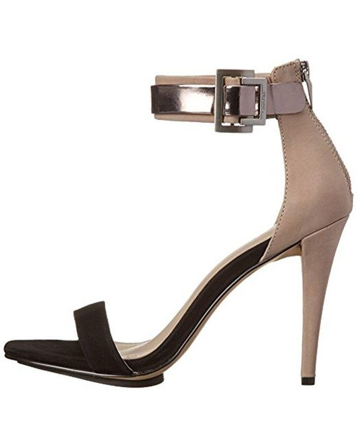 ... Calvin Klein - Multicolor Sable Dress Sandal - Lyst ...