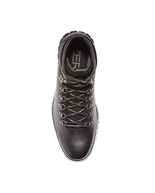 a0c187c27a3 Lyst - Cole Haan Zerogrand Water Resistant Hiker Boot Grey-red in ...