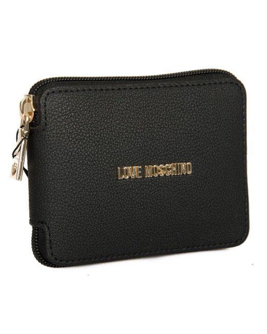 Borsa pochette shopping donna a mano o spalla richiudibile articolo JC4106PP15LS NYLON di Love Moschino in Black