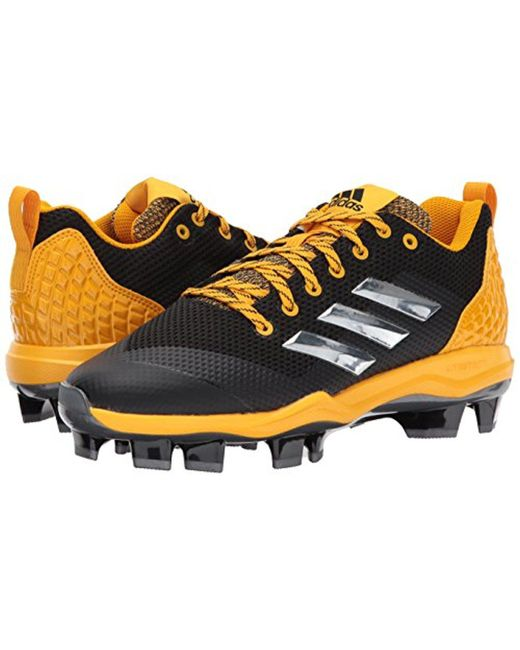 Men's Freak X Carbon Mid Baseball Shoe Core Black Silver Met Collegiate Gold 16 M US