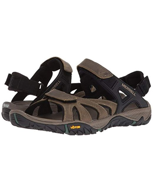 791e33ad9f67 ... Merrell - Black  s All Out All Out Blaze Sieve Convert Hiking Sandals  for Men ...