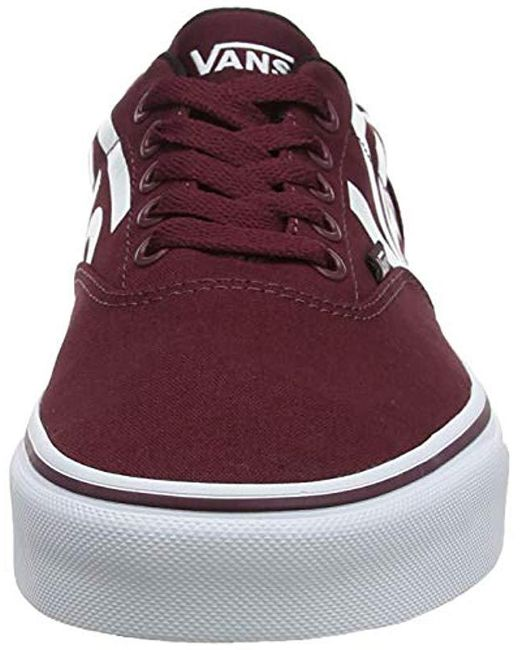 5c25c8559d8a5 Vans Doheny Big Logo Trainers in Red for Men - Lyst
