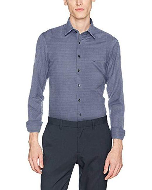 Calvin Klein - Blue Padua W Slim Fit Ftc Formal Shirt for Men - Lyst