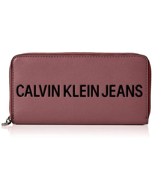 Borse a tracolla di Calvin Klein in Red