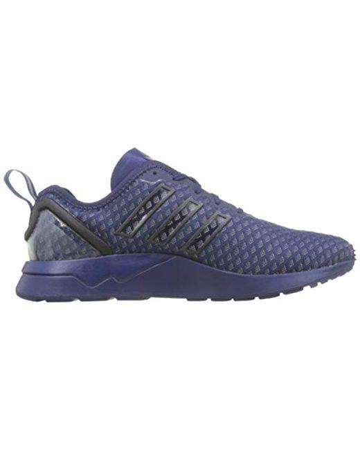 804b592ad2deb adidas Zx Flux Adv Aq6752 Trainers in Blue for Men - Lyst