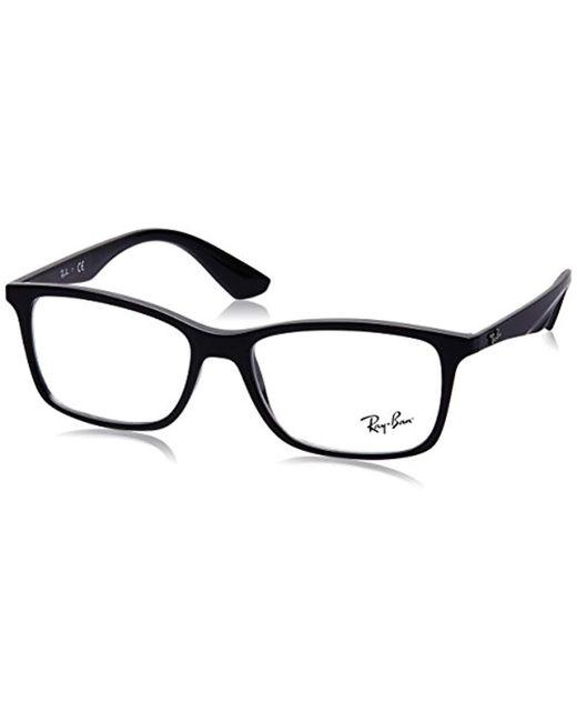 Optical RX7047 C56 Ray-Ban de hombre de color Black