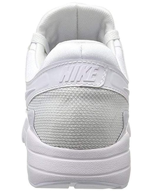 66c9ad0c6e3b1 Nike Air Max Zero Essential Trainers in White for Men - Save 17% - Lyst