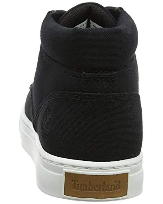 11fcd766e8 ... Timberland - Black Adventure 2.0 Cupsole Canvas Chukka Boots for Men -  Lyst ...
