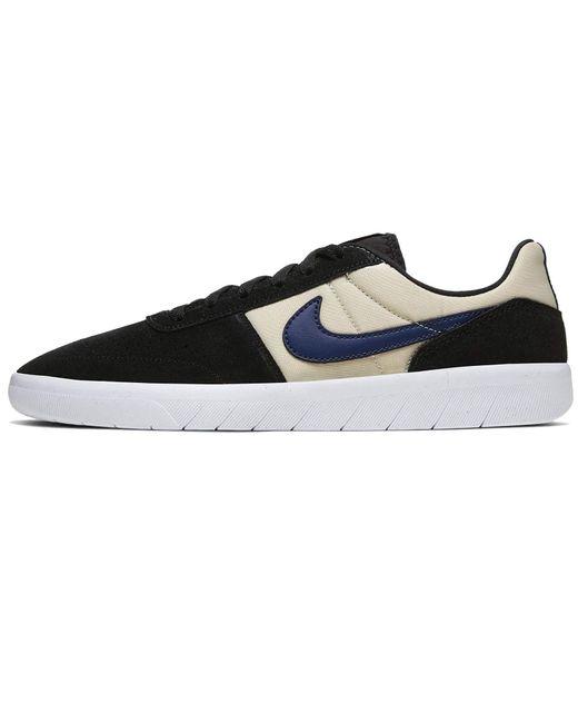 Nike SB Schuhe Team Classic Black / Midnight Navy - Fossil-45 in Blue für Herren