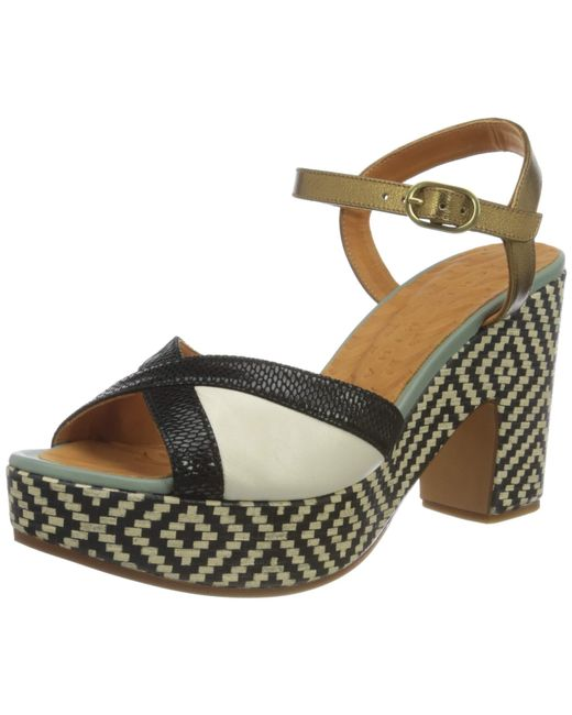 Chie Mihara Multicolor A-Jusla38 Sandale mit Absatz