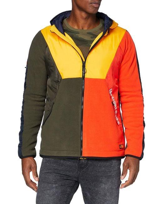 Superdry Multicolor Slipstream Extreme Polar Zip Jacket for men