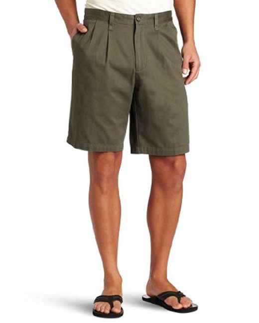 Dockers - Green Perfect Short D3 Classic-fit Pleated Short for Men - Lyst