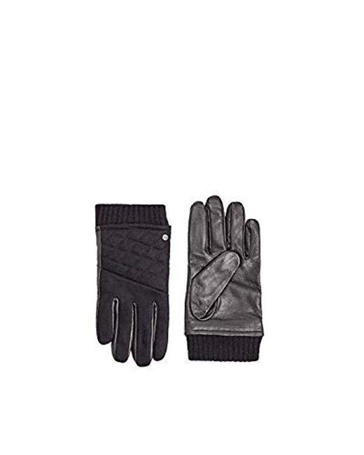 Gants Esprit pour homme en coloris Black
