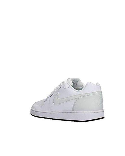 1fc9057e29 ... Nike - White Ebernon Low Basketball Shoes for Men - Lyst ...