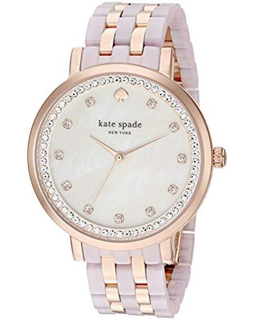 1f1ee6590aa Kate Spade - Multicolor 38mm Monterey Watch - Lyst ...