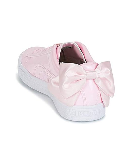 best authentic 0ad6a 1037e PUMA Wn Suede Bow Patent.cradle Shoes (trainers) in Rose ...