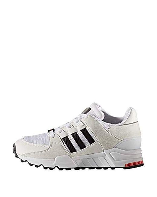 prix plancher vente pas cher styles frais Men's Originals Baskets Enfant Eqt Running Support 93 Footwear White/core  Black