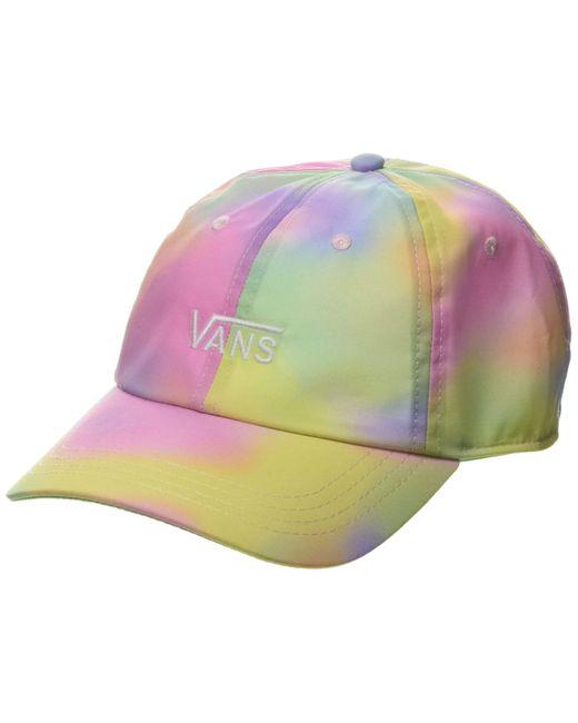Court Side Printed Hat Casquette De Baseball Vans en coloris Multicolor