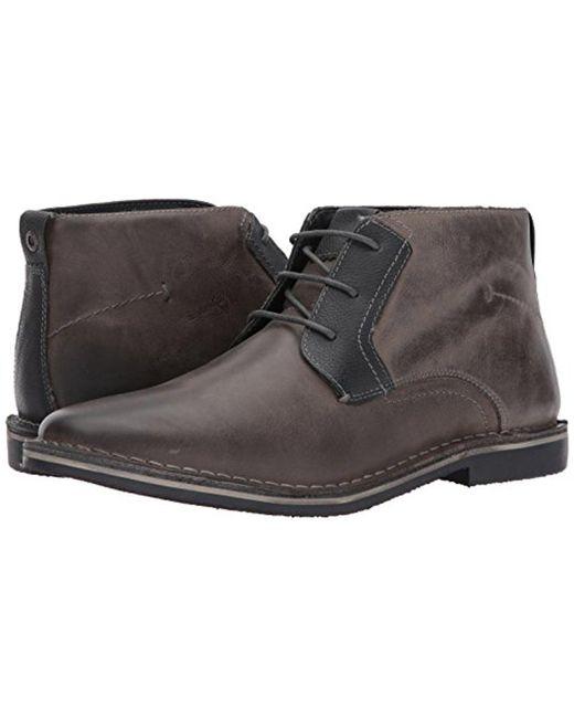 063cadf1d86 ... Steve Madden - Gray Herrin Chukka Boot for Men - Lyst ...