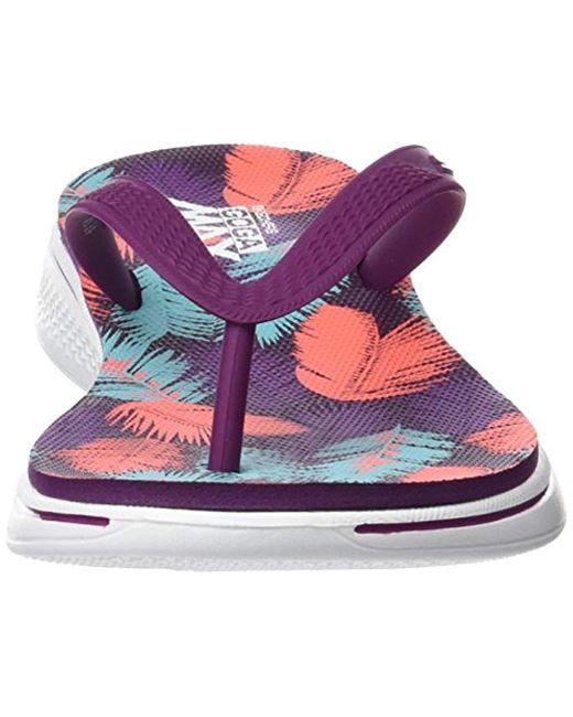 4b4315be3e46 ... Skechers - Purple H2 Goga-lagoon Flip Flops - Lyst ...