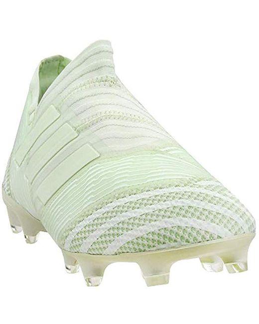 fbfdb666665ad Men's Green Nemeziz 17+ Fg Soccer Cleat