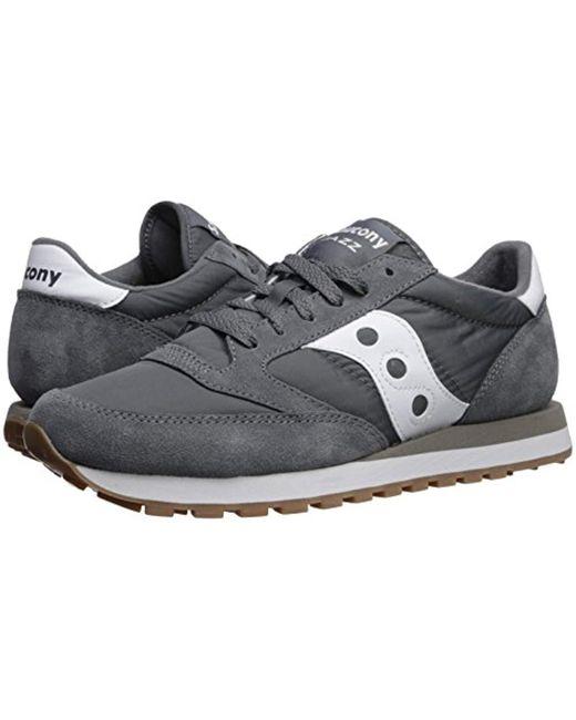 the latest c9aa9 8b944 Saucony - Gray Originals Jazz Original Running Shoe for Men - Lyst