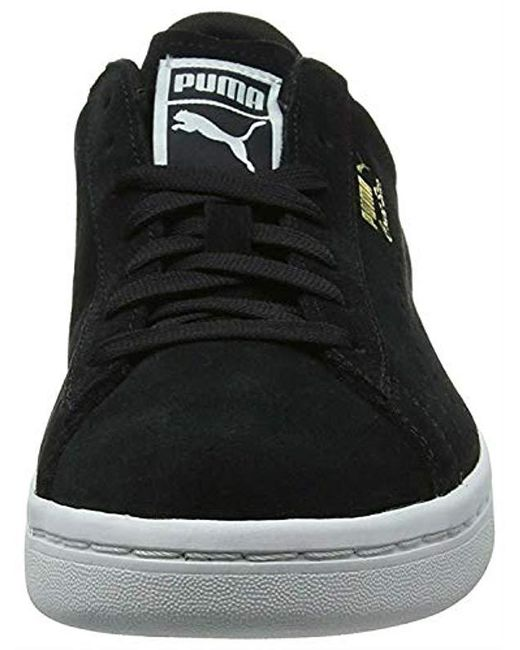 on sale 89cba 4cc1f Black Unisex Adults' Court Star Suede Low-top Trainers