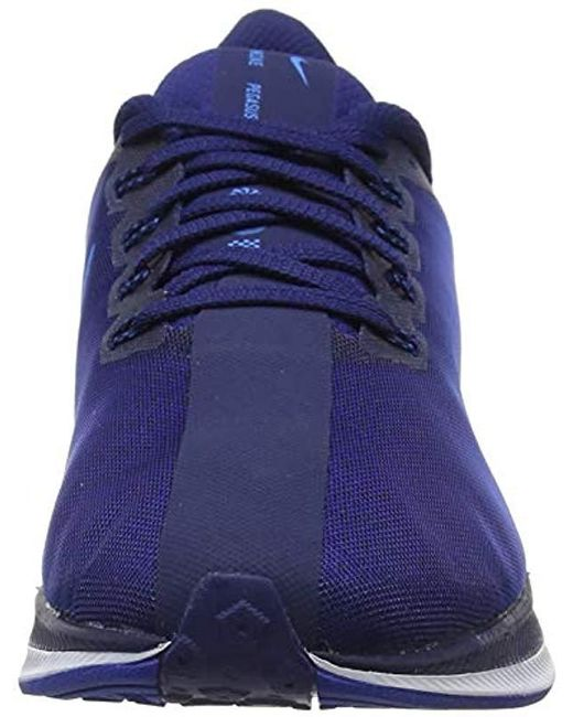 wholesale dealer e3836 a4f9d Nike Zoom Pegasus 35 Turbo Track & Field Shoes in Blue for ...