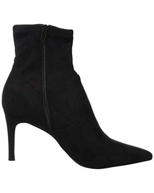 5350ac721b9 ... Steve Madden - Black Lava Ankle Boots - Lyst ...
