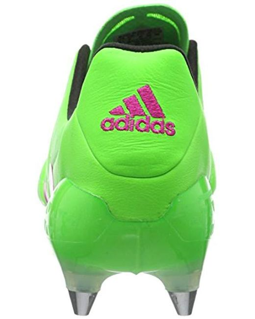 save off 1e71c 813df Men's Green Ace 16.1 Sg Leather Football Boots