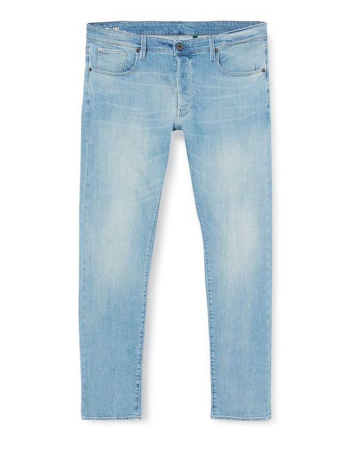 G-Star RAW S 3301 Straight Tapered Jeans in Blue für Herren