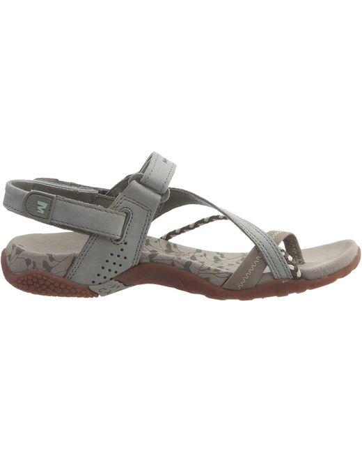 Seaboard Erövrare kombinera  Merrell Siena Seagrass Flat Women Sandals | Outdoor Walking Summer ...