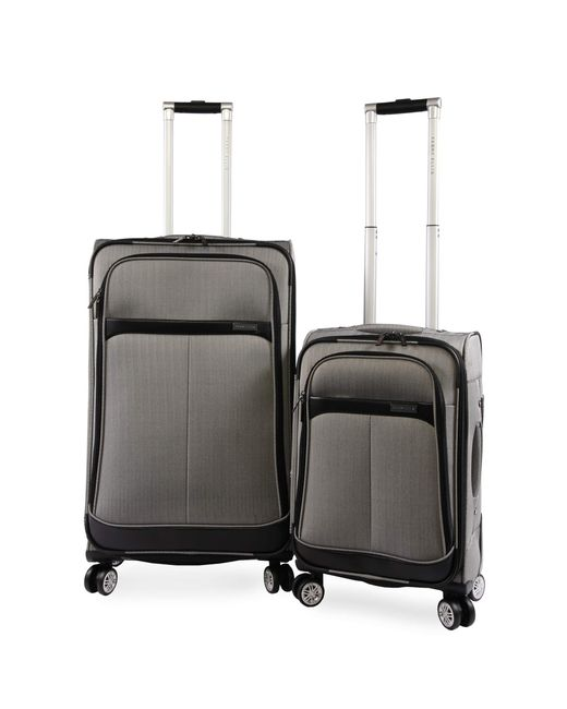 Perry Ellis Multicolor 2 Piece Marquis Spinner Luggage Set