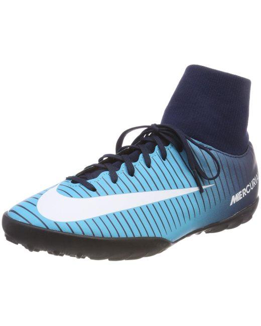 JR Mercurialx Victory 6 DF TF Nike de color Blue