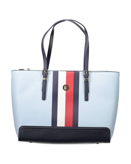 Flag Honey Medium Omphalodes Client AW0AW06867404 Tommy Hilfiger en coloris Multicolor