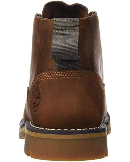 64fbde3f0cc Men's Brown Larchmont Ftm_larchmont Wp Chukka, Chukka Boots