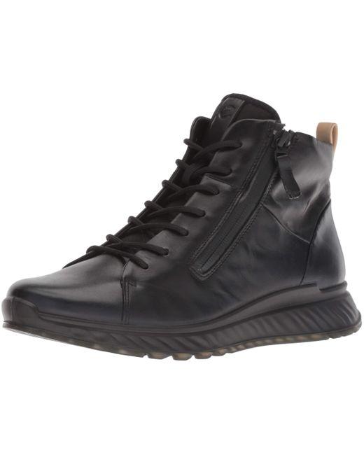 Ecco Black ST.1 Hohe Sneaker