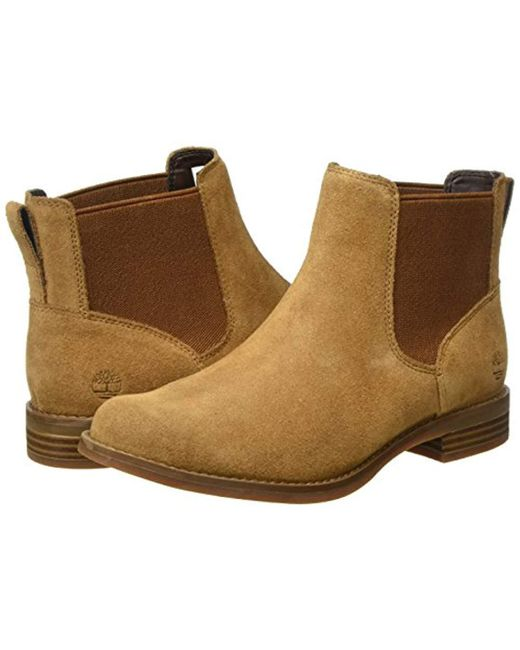 bac3ead140217 Timberland Magby Chelsea Boots in Brown - Save 58% - Lyst