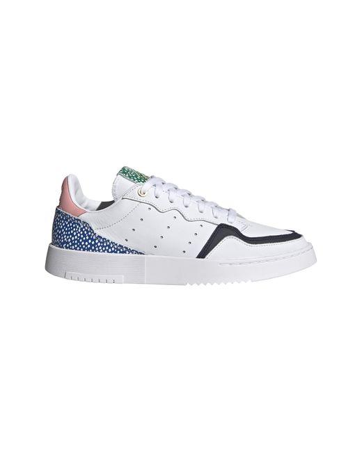 , Supercourt w, Ftwwht/Legink/glopnk - 38 2/3 Adidas en coloris White