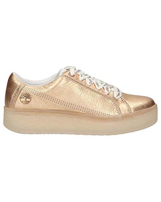 Timberland Casco Bay FTW EK, Damen High Top Sneaker, Rot