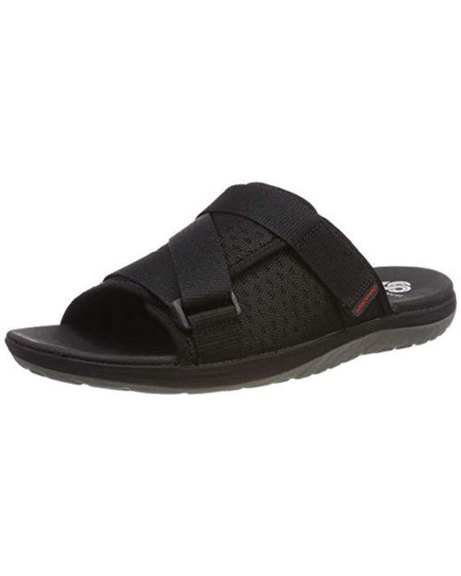 Clarks Step Beat Surf Geschlossene Sandalen in Black für Herren