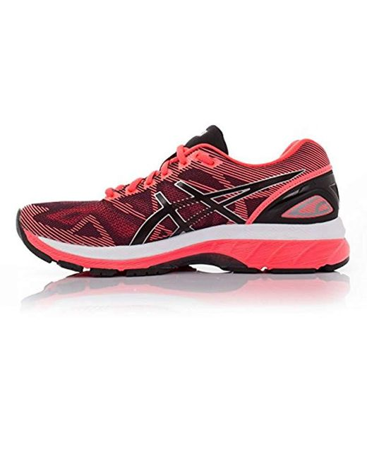 outlet store 06e4a 7a5ef Women's Pink Gel-nimbus 19 Running Shoes