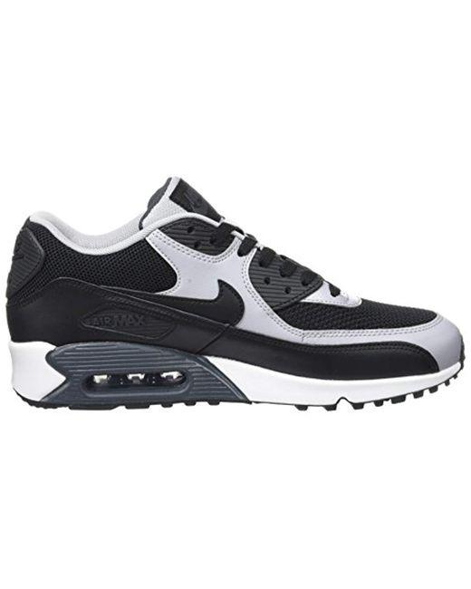 Men's Gray Air Max 90 Essential Low top Sneakers