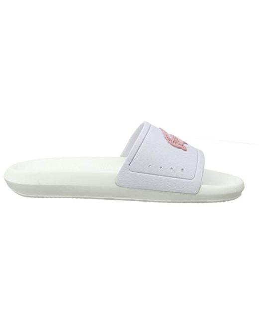 Croco 56 Sandals 3 Open Lacoste Cfa In Save Slide Toe 119 White rtQdhs