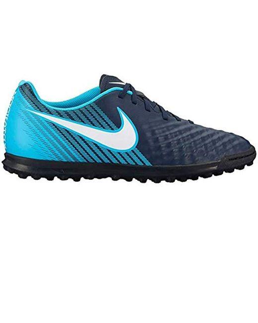 Nike Blue Unisex Adults' Buty Magista X Ola Ii Tf 844408 414 Trainers for men
