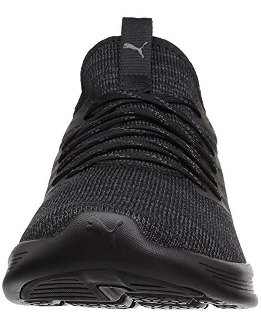 outlet store ac37f f3288 Men's Black Ignite Flash-evoknit Competition Running Shoes